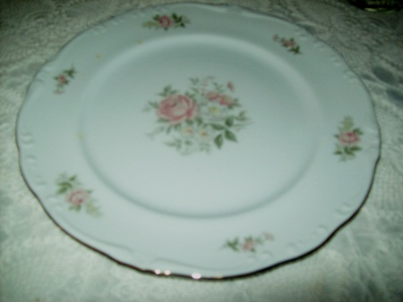 Cartoon De CiK: Antique China Plate