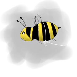 bumble bee - Copyright 2012 Leah Jones