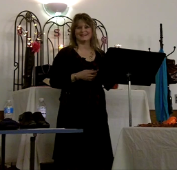 Beth Jones, speaking in Canada