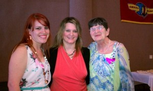 Amber Welton, Beth Jones, and Sue Wilt