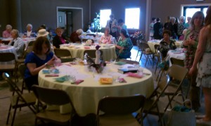 Archie Baptist Church ladies' tea