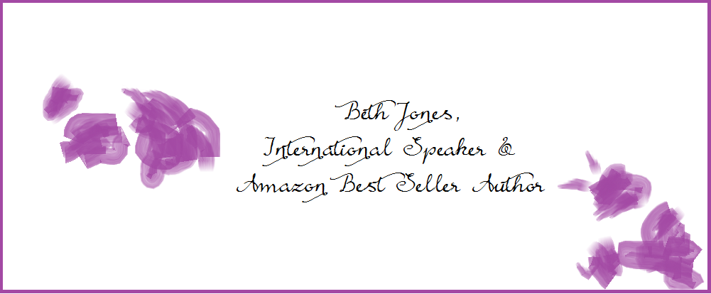 Beth Jones, International Speaker & Amazon Best Seller Author - Equipping women to use their gifts for God, doing what they love.